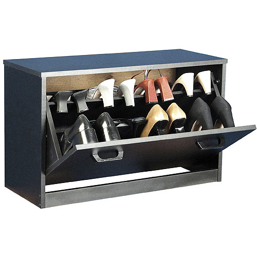 Shoe Cabinet, Single, Black