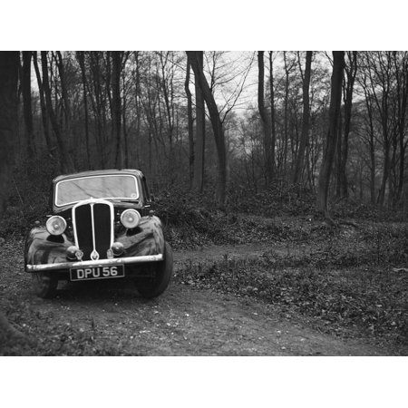 Standard Twelve at the Standard Car Owners Club Southern Counties Trial, Hale Wood, Chilterns, 1938 Print Wall Art By Bill - Hale 12 Light