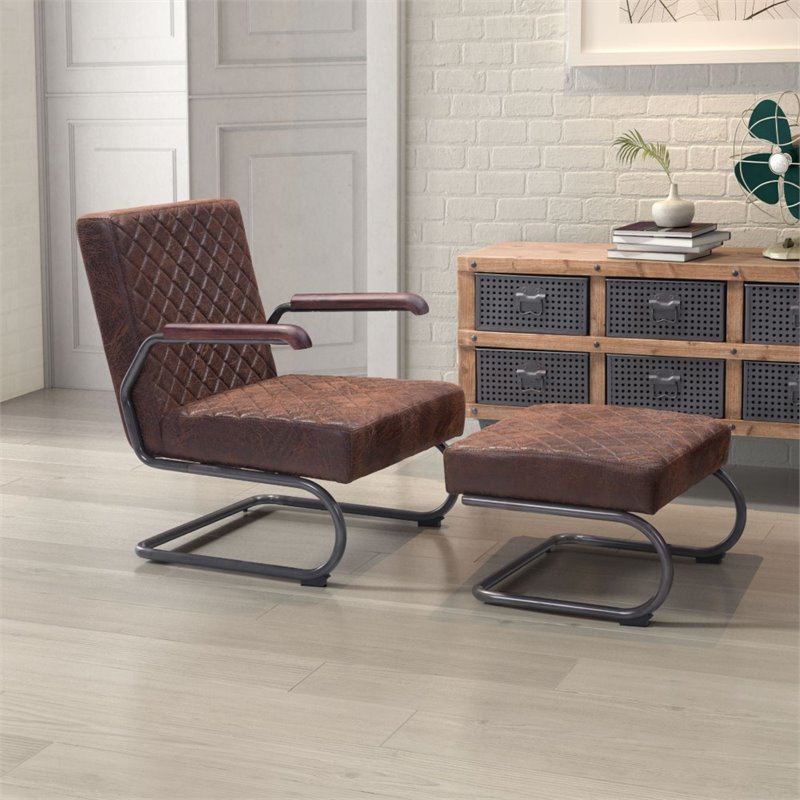 Zuo Modern Contemporary Father Lounge Chair