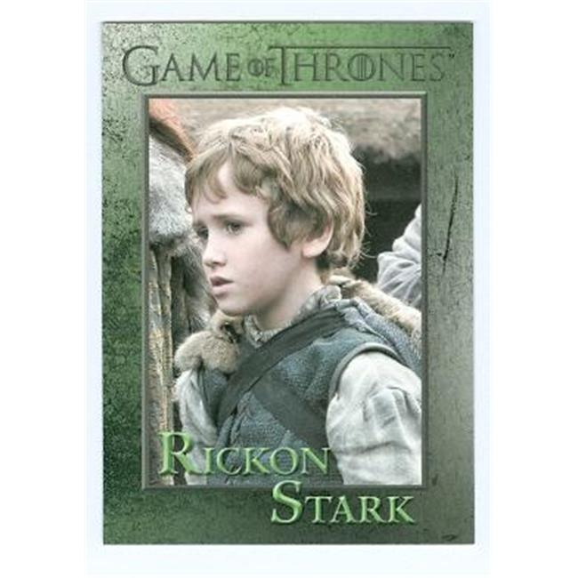 Autograph Warehouse 98518 Game Of Thrones Trading Card No.  53 2012 Rickon Stark