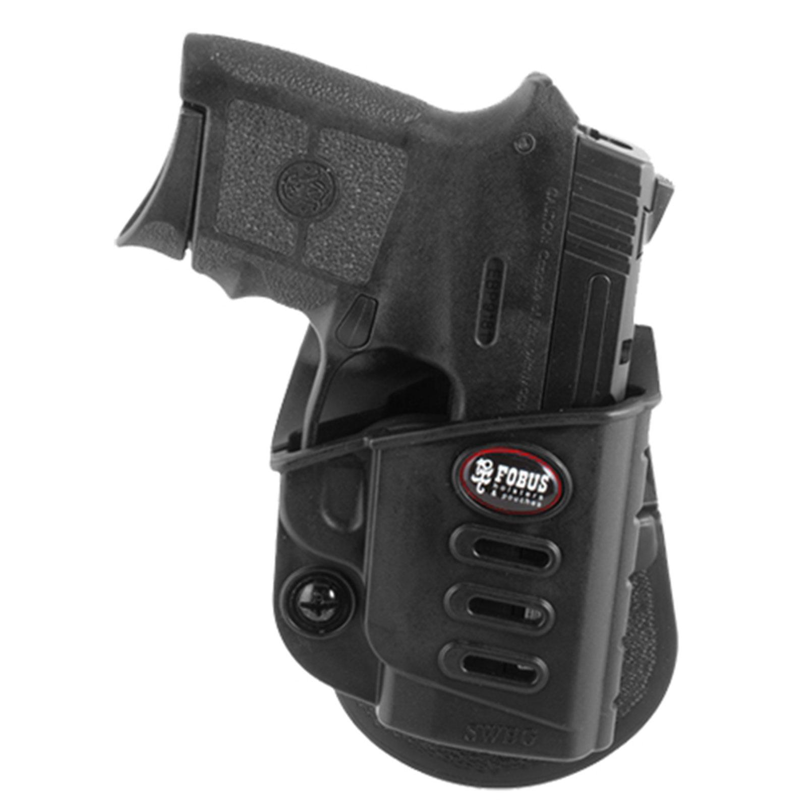 Fobus Left Hand Holster for S&W Body Guard 380 Paddle Style