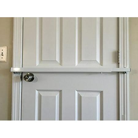 door bar pro model 36 steel door security bar for 36 inch wide inswing doors