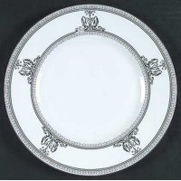 "Columbia Platinum Accent Salad Plate 9"", Wedgwood Fine Bone China By Wedgwood"