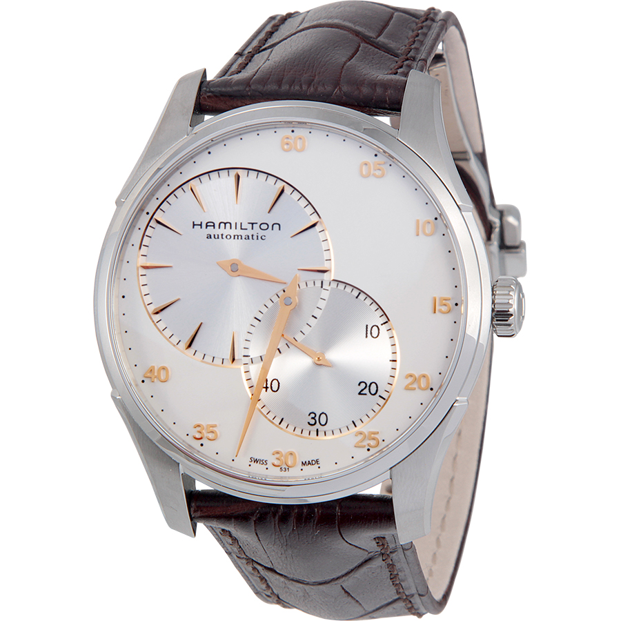 Hamilton Jazzmaster Regulator Silver Dial Stainless Steel Mens Watch by Hamilton