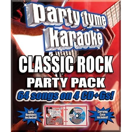 Party Tyme Karaoke: Classic Rock Party Pack ()