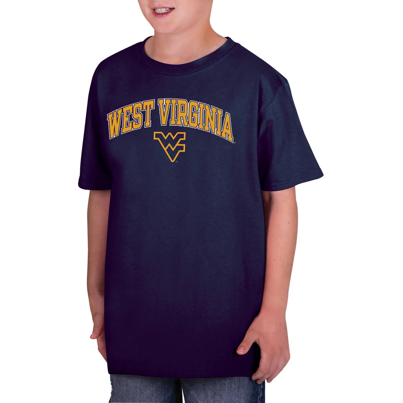 NCAA West Virginia Mountaineers Boys Classic Cotton T-Shirt