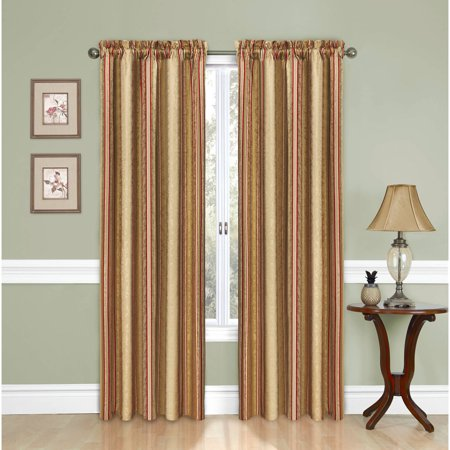 Traditions by Waverly Stripe Ensemble Window Panel