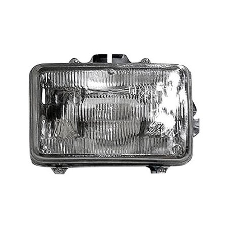 Go-Parts OE Replacement for 1982 - 1985 Buick Century Front Headlight Assembly Housing / Lens / Cover - Left (Driver) Side 16501995 GM2500119 Replacement For Buick Century