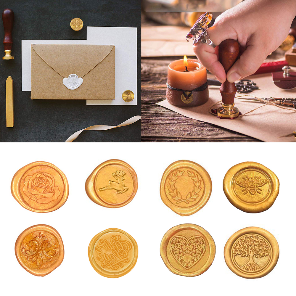 Official Seal Invitations New Wax Seal Set Classic Package for Closing Envelopes