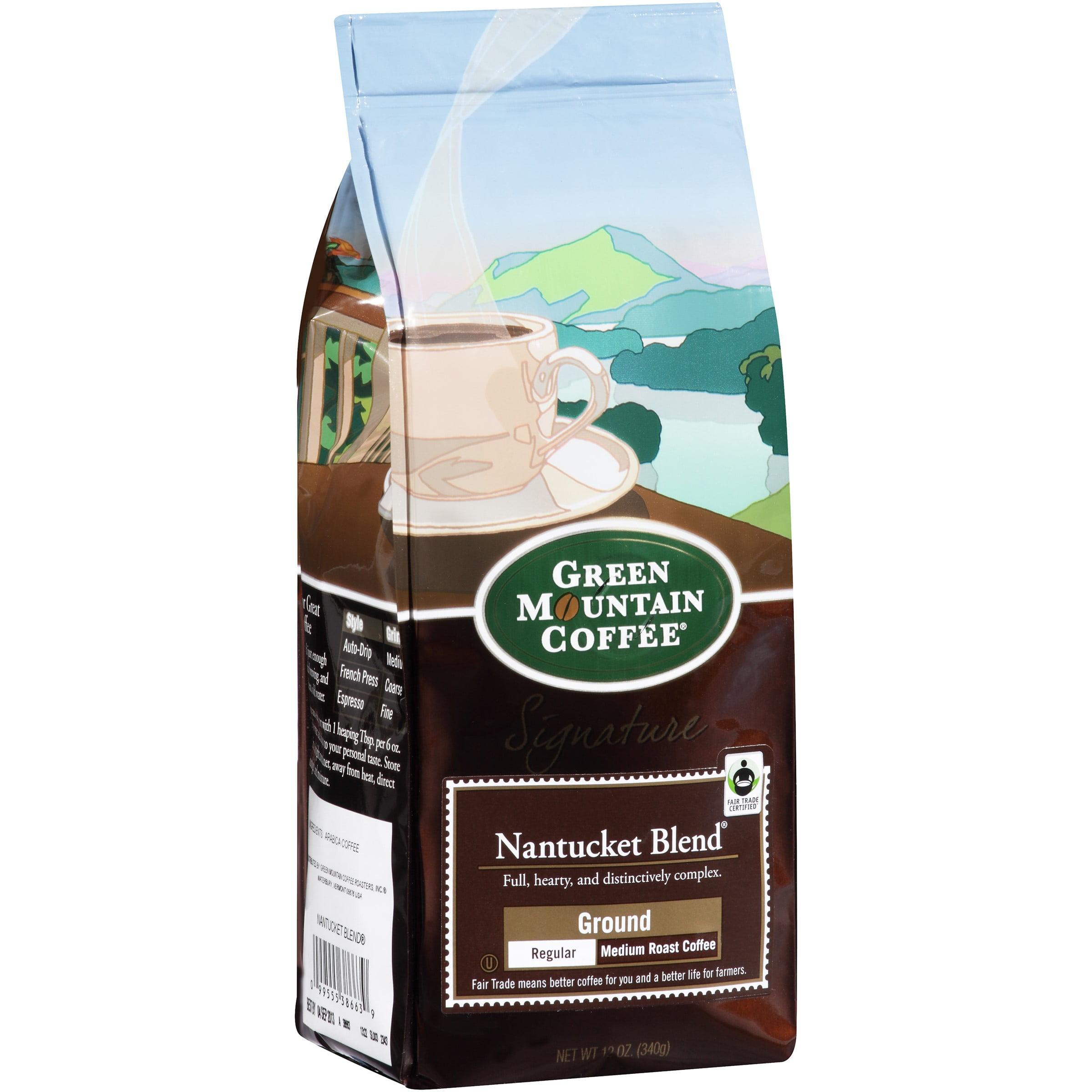 Green Mountain Coffee Signature Nantucket Blend Ground Regular Medium Roast Coffee 12 Oz. Bag
