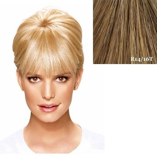 HairDo Bangs Jessica Simpson Ken Paves Hair Extensions R1416T (Buttered Toast)