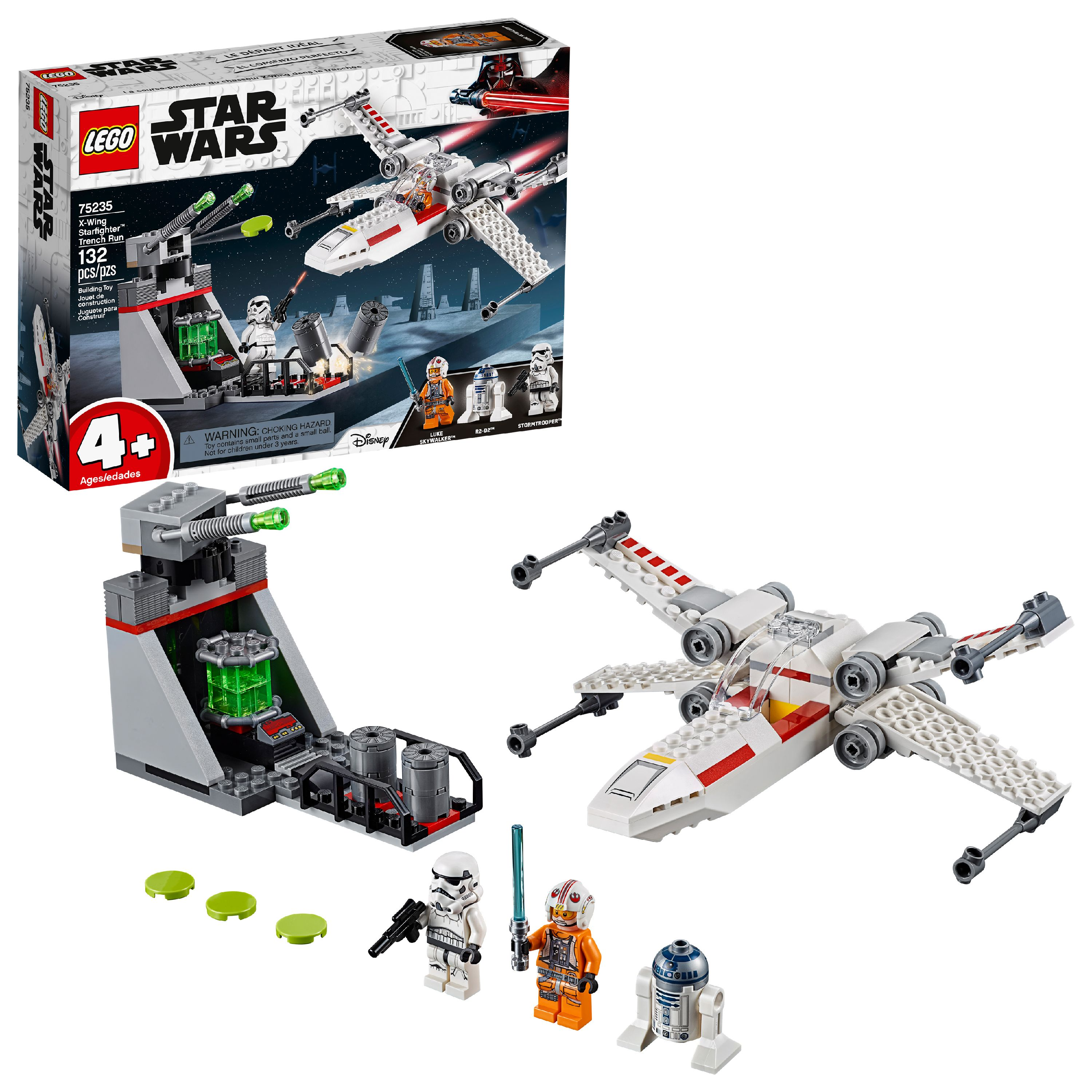 LEGO Star Wars TM X-Wing Starfighter Trench Run 75235