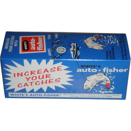 Mechanical Whites Auto Fisher-12 Pack