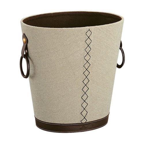 Organize It All Oval Basket in Beige / Brown