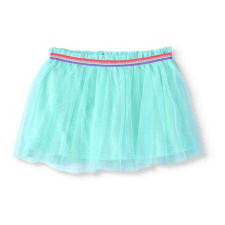 Little Girls' 4-8 Solid Mesh Scooter Skirt for $<!---->