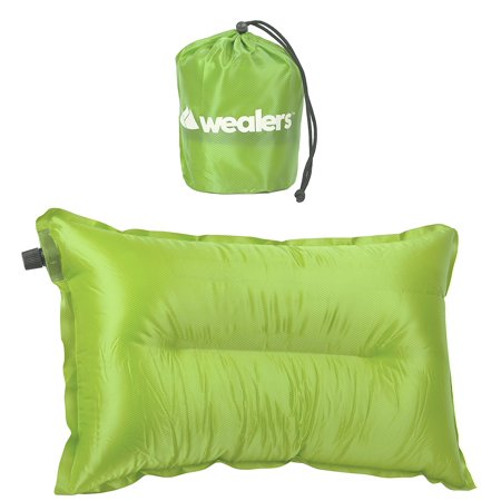 Airblown Inflatable Outdoor Snowglobe (Wealers Camping Travel Pillow Automatic Inflatable Air Bed Cushion Pad for Camping Hiking Backpacking Outdoors, Compact and Lightweight, )
