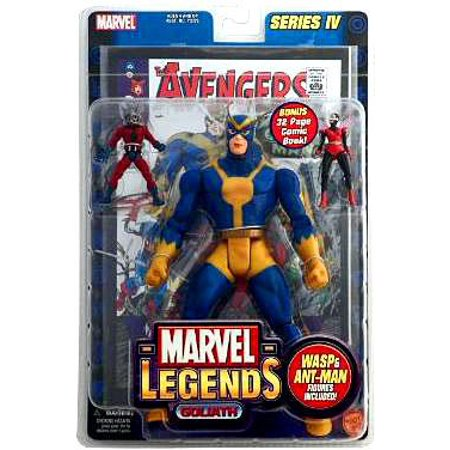 Marvel Series 4 Goliath Action Figure