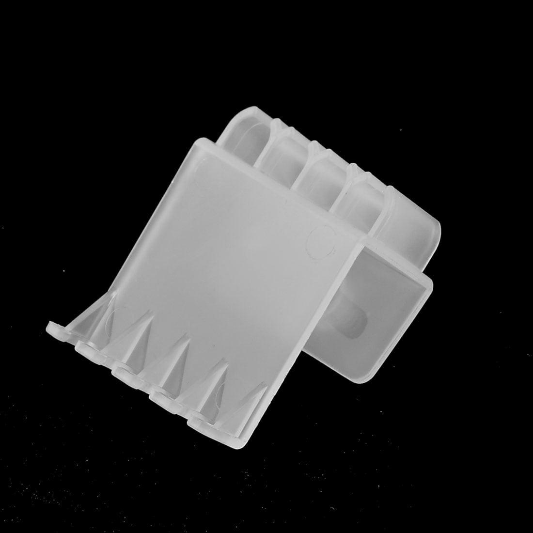 Aquarium fish tank plastic cover - Plastic Aquarium Fish Tank Clips Glass Cover Clamp Support Holder White Previous