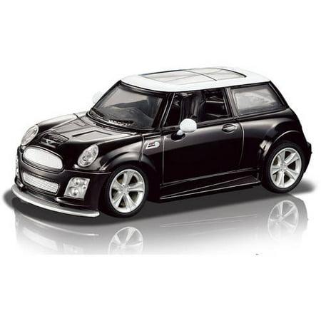 Mini Cooper 1:24 R/C Car, Black