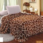 Sweet Home Collection Giraffe Super Soft plush Throw Blanket