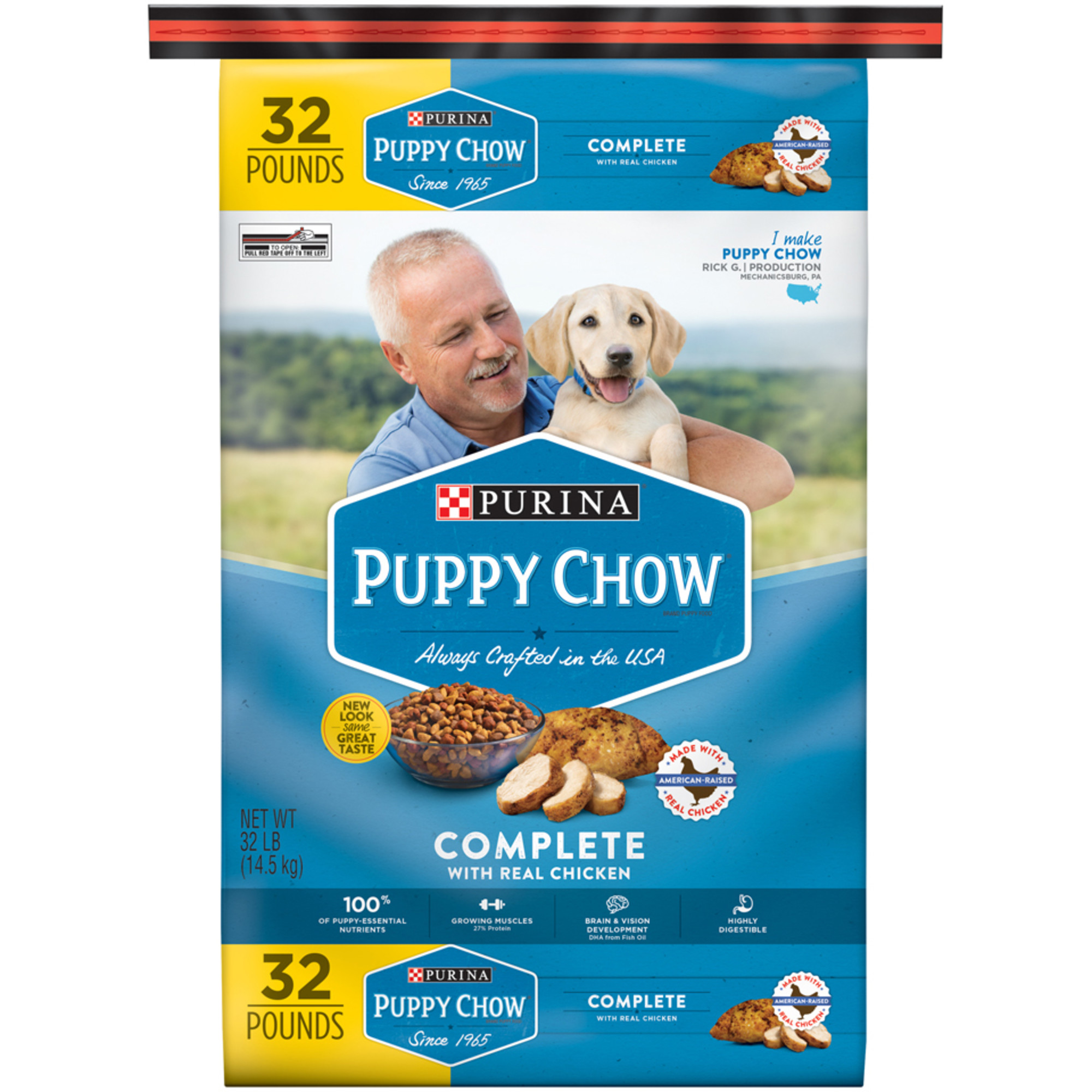 Purina Puppy Chow Complete & Balanced Dry Dog Food, 32 Lb