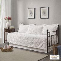 Home Essence Eugenia 5 Piece Tufted Cotton Chenille Daybed Set