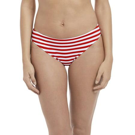 2faf8bd8d7 Freya - Freya Womens Drift Away Bikini Brief, L, Red - Walmart.com