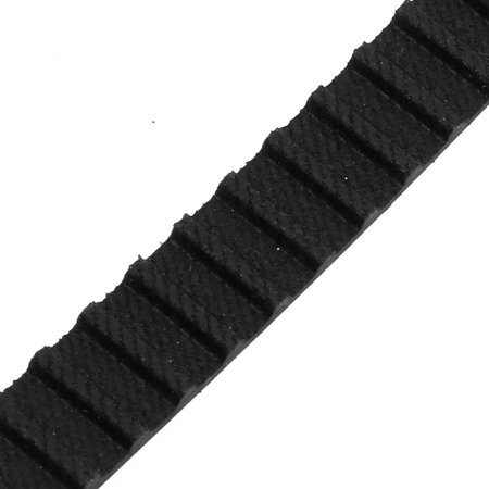700XL 350 Teeth 10mm x 5.08mm Rubber Timing Geared Belt for Stepper Motor Black - image 2 of 3