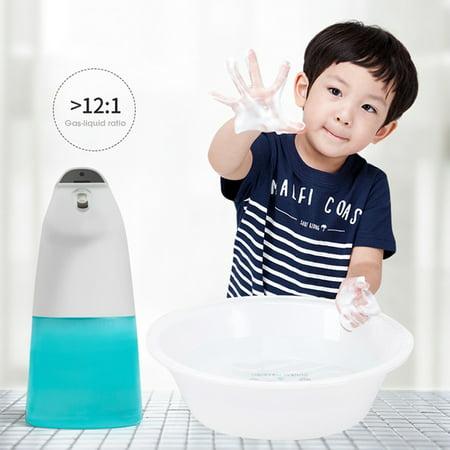 400ML Automatic Soap Dispenser Touch-less Infra-red Sensor Foaming Soap Dispenser IPX3 Waterproof - image 5 de 7