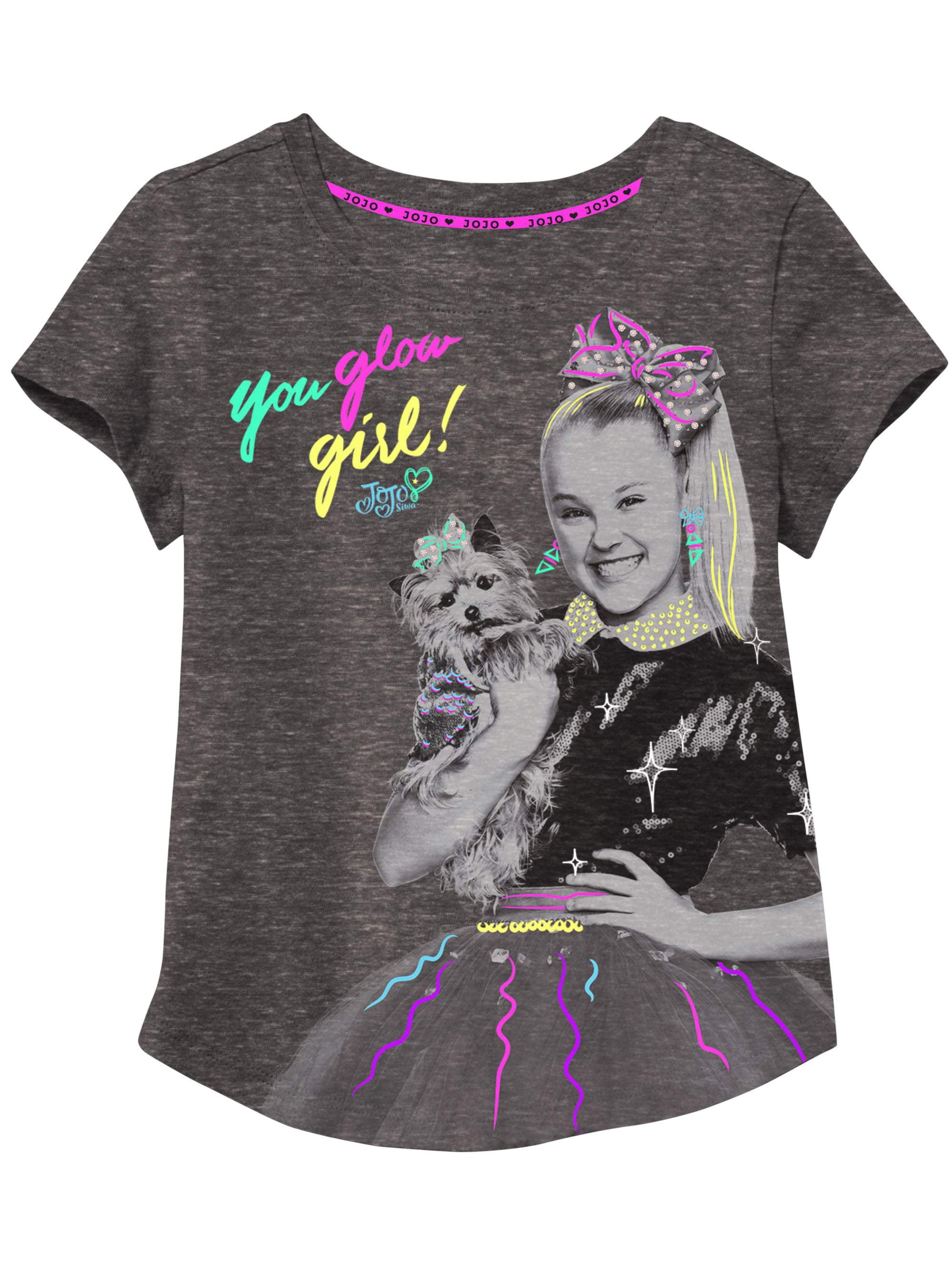 Black Girls Nickelodeon JoJo Siwa T-Shirt
