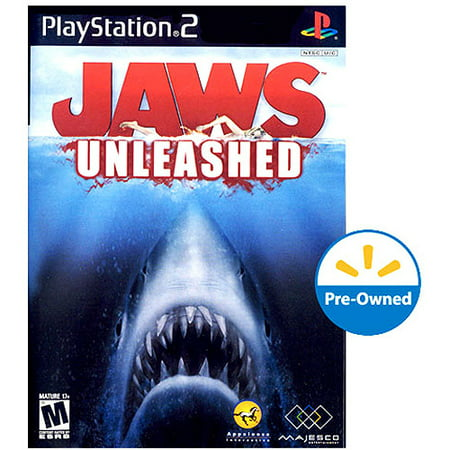 jaws unleashed ps2 pre owned walmart com
