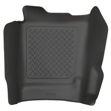Center Hump Floor Liner Fits 14-17 Silverado/Sierra Crew/Double, FormFit Design process perfectly forms each liner to the detailed contours of your specific.., By Husky Liners