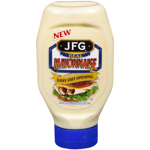 JFG Real Easy Out Opening Mayonnaise, 18 fl oz