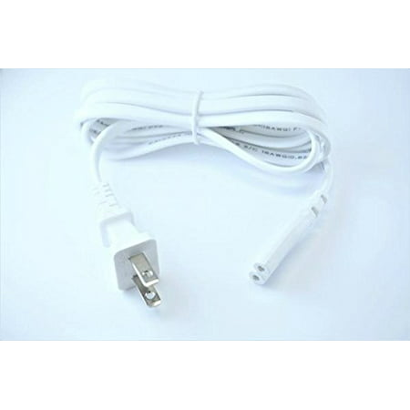 OMNIHIL (White) 5 Foot Long AC Power Cord Compatible with Sonos Connect AMP Digital Media