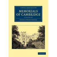 Memorials of Cambridge - 3 Volume Set