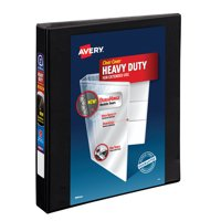 """Avery 1"""" Heavy Duty Binder, One Touch EZD Ring, Black, 275 Sheets"""