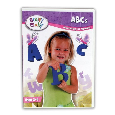 Brainy Baby ABCs Introducing the Alphabet A to Z Deluxe Edition DVD - Baby Necessities From A To Z