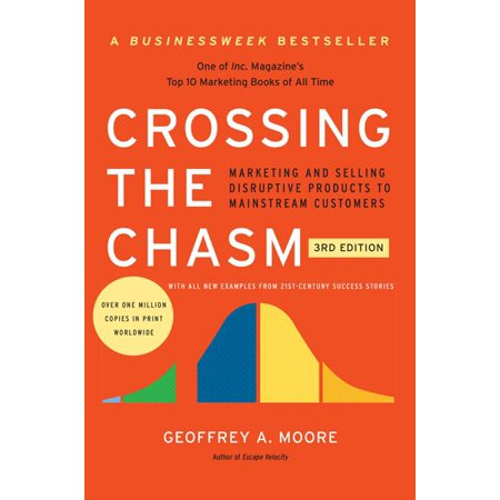 Crossing the Chasm, 3rd Edition : Marketing and Selling Disruptive Products to Mainstream Customers - Walmart Custome