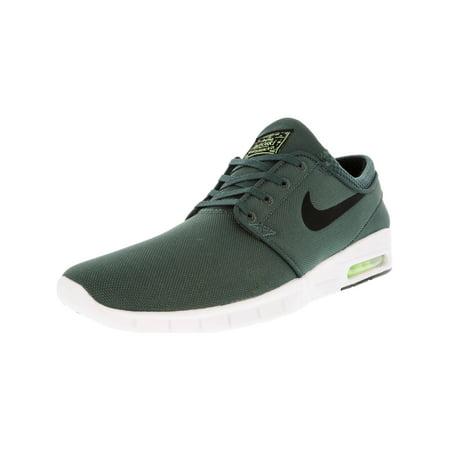 ed9d5b76ff9 Nike Men s Stefan Janoski Max Hasta   Black Barely Volt White Ankle-High  Running Shoe - 12M - Walmart.com