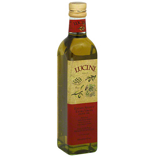 Lucini Italia Estate Select Extra Virgin Olive Oil, 16.9 oz (Pack of 6)