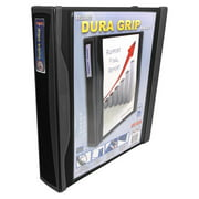 Storex DuraGrip Binder, 1-Inch, O-Ring, Multiple Colors Available,4 pack