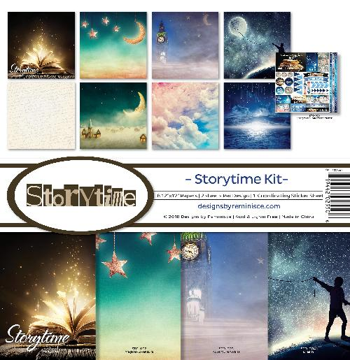 "Reminisce Collection Kit 12""X12""-Storytime"