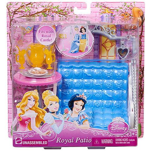 Disney Princess Royal Patio Furniture Play Set