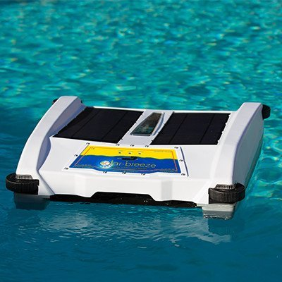 Solar Breeze NX Automatic Pool Skimmer- Smart Robot, Powered by the Sun