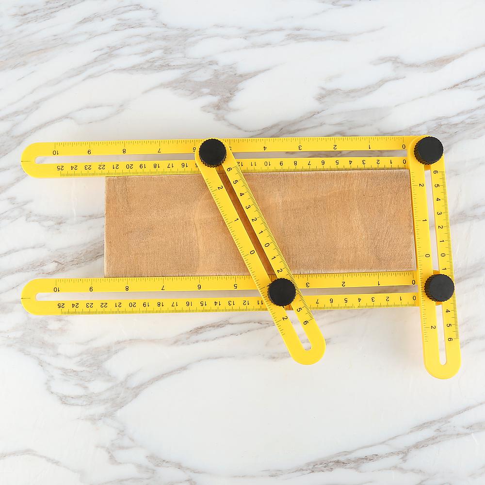 Jeobest Angleizer Template Tool Multi Angle Ruler Adjustable 4