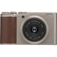Fujifilm X-F10 Digital Camera with 18.5mm Wide Angle Lens, Champagne Gold