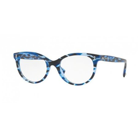 Authentic Valentino Eyeglasses VA3009 5038 Striped Blue Frames 52MM Rx-ABLE