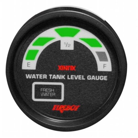 Fireboy Xintex Llm 2 F Rp Water Tank Display Round 2 Inch Gauge Fit For 2 Fresh Water Tanks