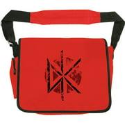 Dead Kennedys DK Messenger Bag Red