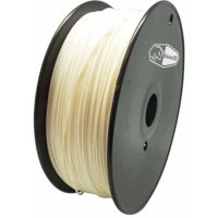 Universal Filament for 3D Printing, 1.75mm, 1kg/Roll, Nature/Transparent (Nylon)